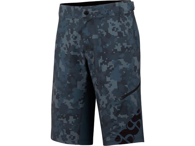 IXS Culm Shorts Men camo-graphite